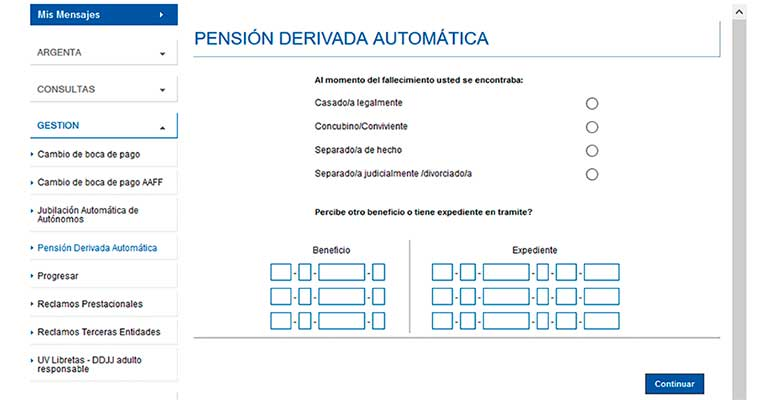 como sacar una pension
