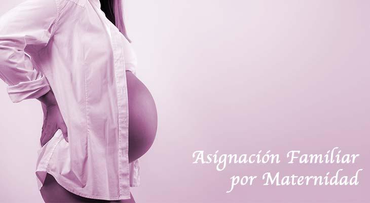 Asignación familiar por maternidad