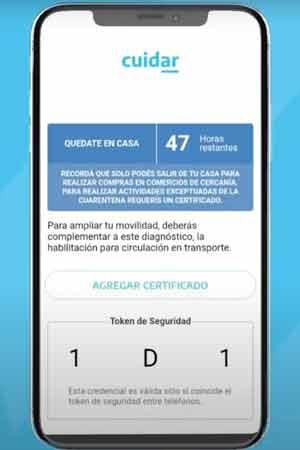 Permiso para Circular - App Cuidar